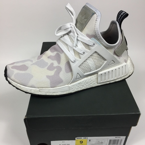 2ac70fbb5 adidas Other - Men s Size 9 Adidas NMD XR1 Duck Camo - Tan White